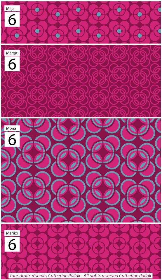 Coupons tissus motifs elephants